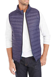 Big & Tall Packable Polyester Filled Vest