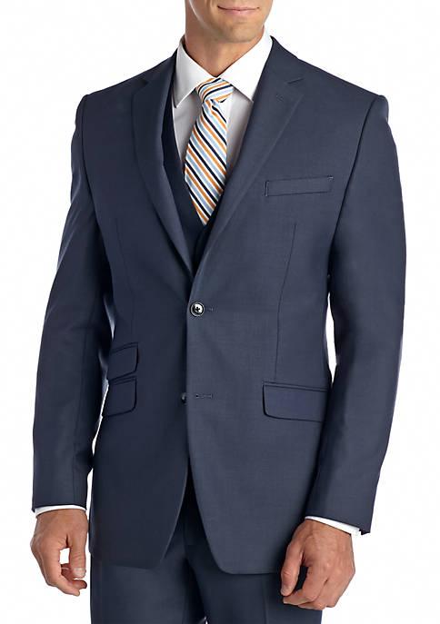 Perry Ellis® Slim Fit Blue Shark Suit Separate