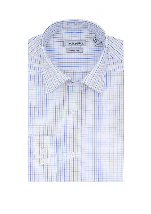 Haggar® Mens Classic Fit Performance Dress Shirt