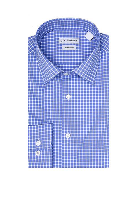 Haggar® Mens Classic Fit Performance Dress Shirt