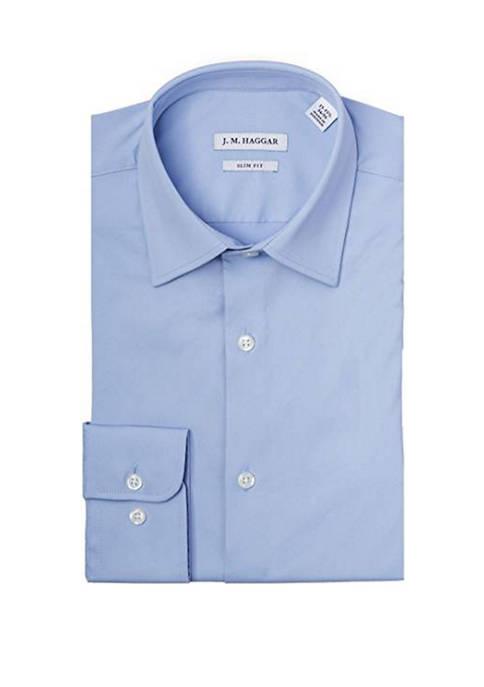 Haggar® Mens Slim Fit Performance Dress Shirt