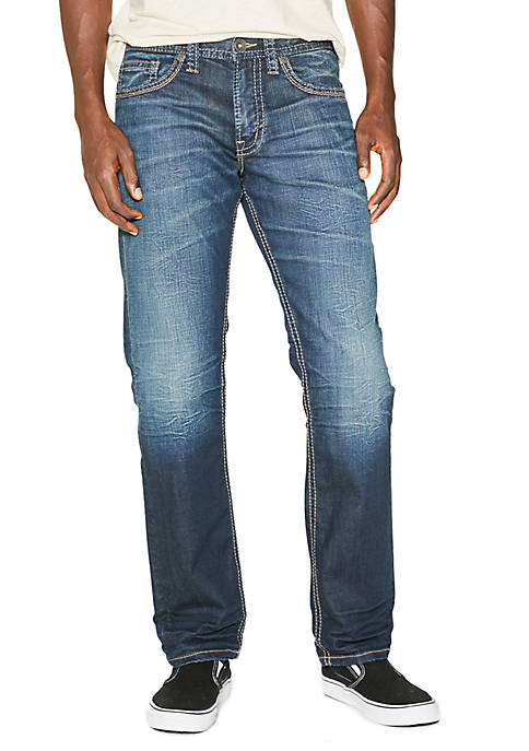 Eddie Relaxed Fit Tapered Leg Jean