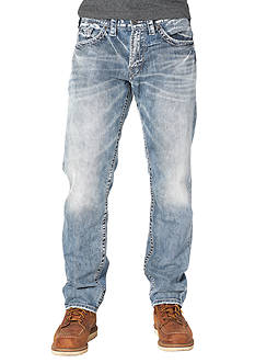 Silver Jeans Eddie Light Wash Relaxed Fit Jean