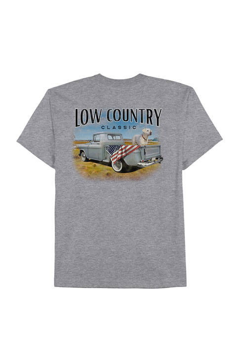 Mens Short Sleeve Southern Wheels Graphic T-Shirt