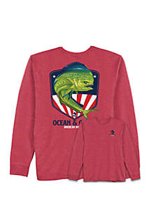 Ocean & Coast® Chi Dorado Graphic T Shirt