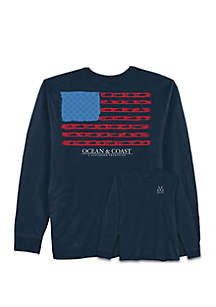 Ocean & Coast® Southern Tradition Long Sleeve T Shirt