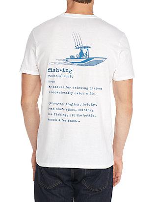 81b28778f Ocean & Coast® Short Sleeve Fishing Definition Graphic Tee | belk