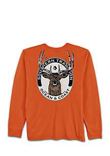 Long Sleeve Deer Tee