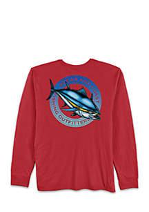 Long Sleeve Motion Bluefin T-Shirt
