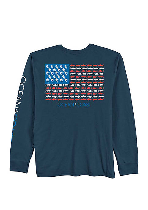 Ocean & Coast® Long Sleeve Jacob T Shirt