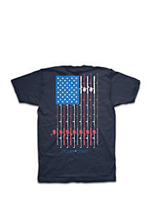 Ocean & Coast® Fannie Fishing Pole Graphic Tee