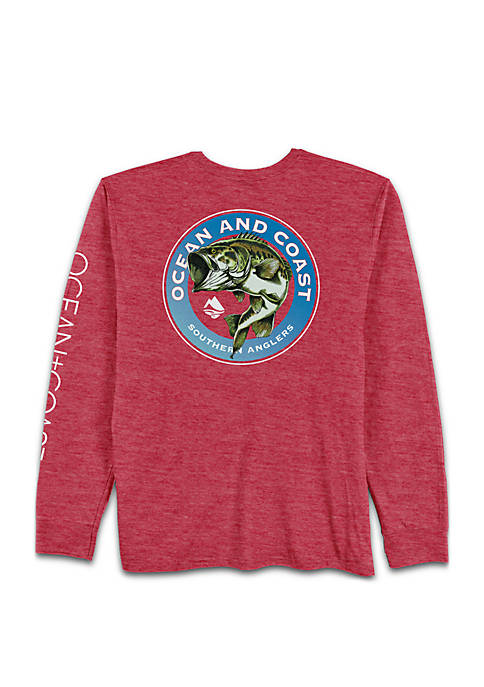 Ocean & Coast® Long Sleeve Gondolier Bass Rash