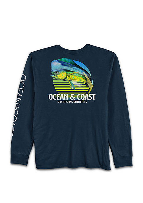 Ocean & Coast® Long Sleeve Finny Dorado Rash