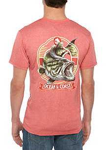 Ocean & Coast® Short Sleeve Bandit Rash Guard