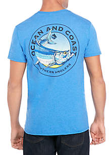 Ocean & Coast® Tord Screenprint T Shirt