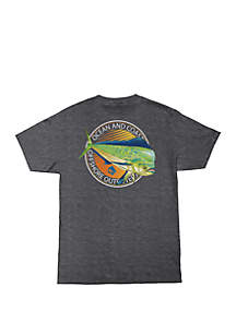 Ocean & Coast® Kong Fish Graphic T Shirt
