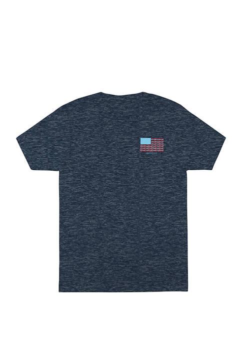 Ocean & Coast® Mens Short Sleeve Rashguard Turbulence