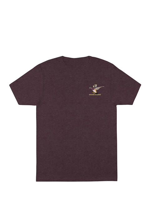 Ocean & Coast® Mens Short Sleeve Olmec Graphic