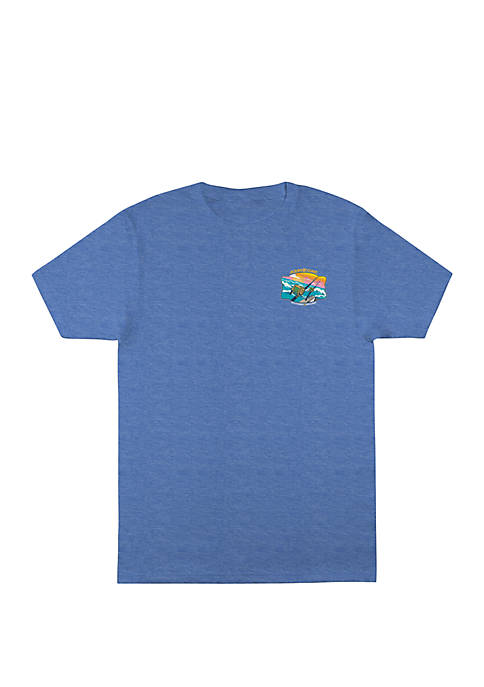 Ocean & Coast® Mens Short Sleeve Graphic T-Shirt