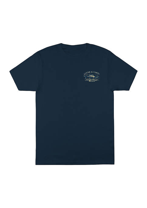 Short Sleeve Courage Graphic T-Shirt