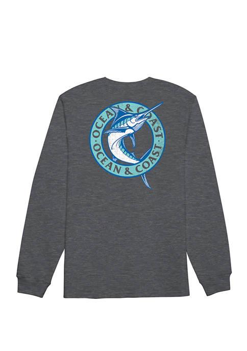 Big & Tall Long Sleeve Graphic T-Shirt