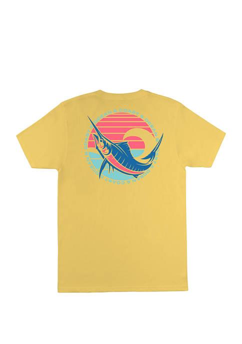 Ocean & Coast® Mens Warl Short Sleeve Graphic