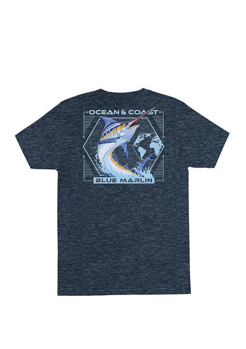Mens Marvel Short Sleeve Rash Guard Graphic T-Shirt