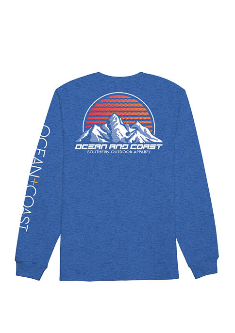 Ocean & Coast® Mens Rico Long Sleeve Rash