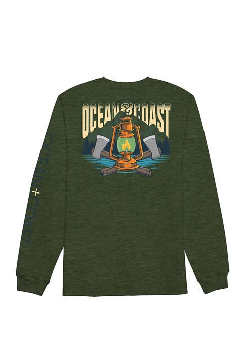 Ocean & Coast® Mens Loast Long Sleeve Graphic