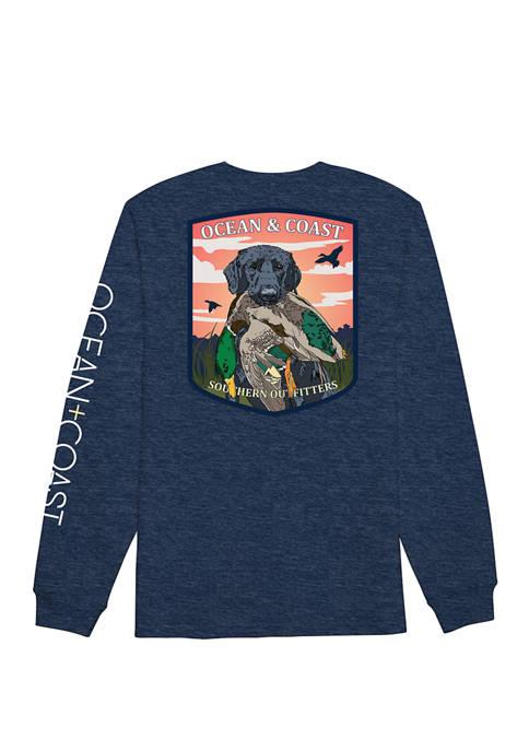 Ocean & Coast® Mens Marshall Long Sleeve Graphic