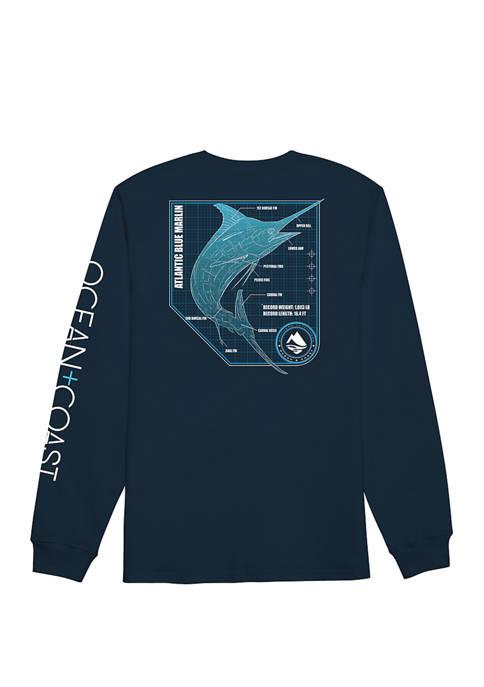 Ocean & Coast® Mens Dory Long Sleeve Rash