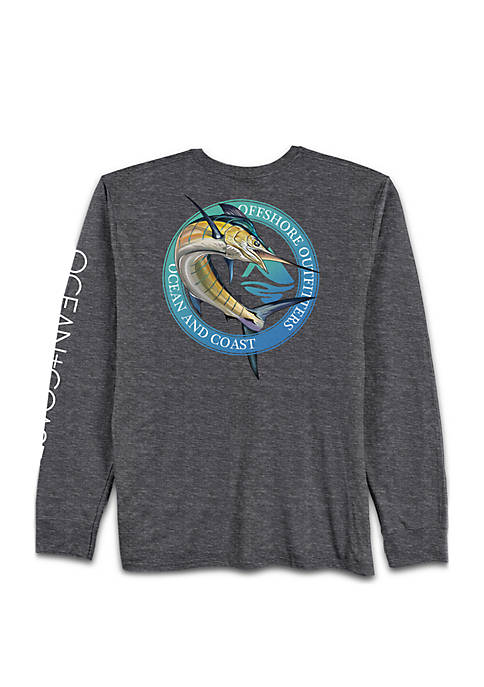 Ocean & Coast® Long Sleeve Blue Marlin Rash