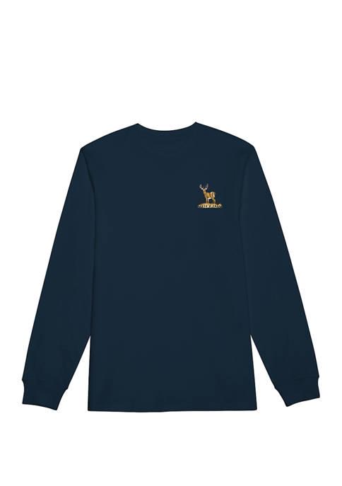 Big & Tall Casual Long Sleeve Graphic Shirt