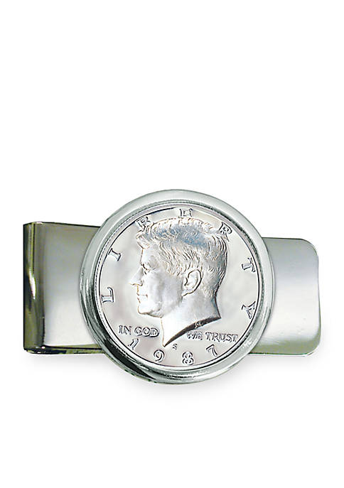 UPM Global Proof JFK Half Dollar Silver Tone