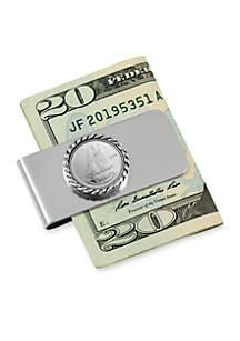 UPM Global Canada Ship Coin Money Clip