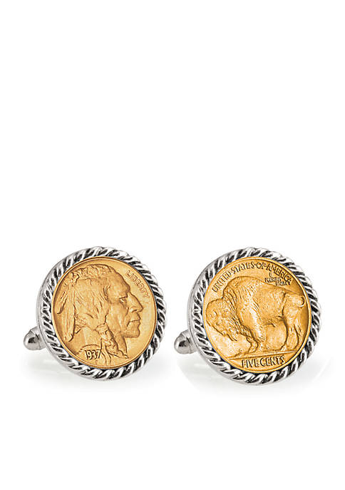 UPM Global Gold- Layered Buffalo Nickel Silver Tone