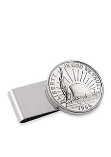 UPM Global Statue Of Liberty Commemorative Half Dollar Money Clip