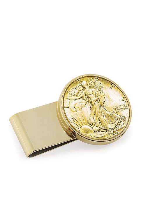 UPM Global Gold-Layered Silver Walking Liberty Half Dollar