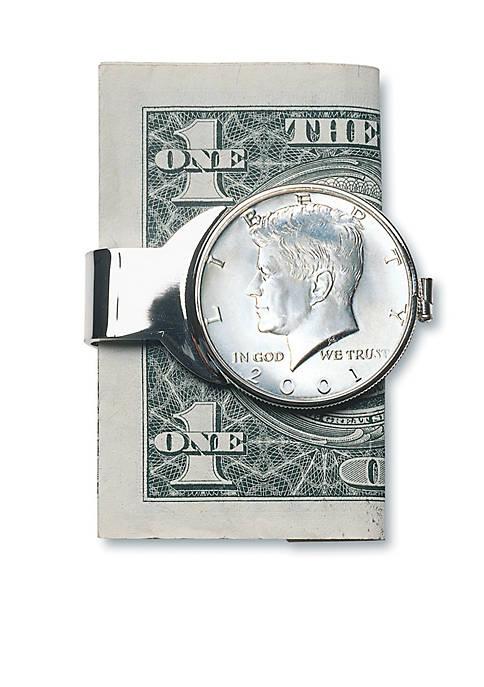 JFK Half Dollar Money Clip