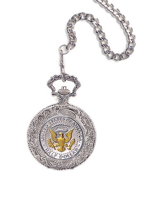 UPM Global Selectively Gold Layered Presidential Seal Pocket