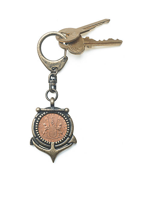 Shipwreck Coin Key Chain