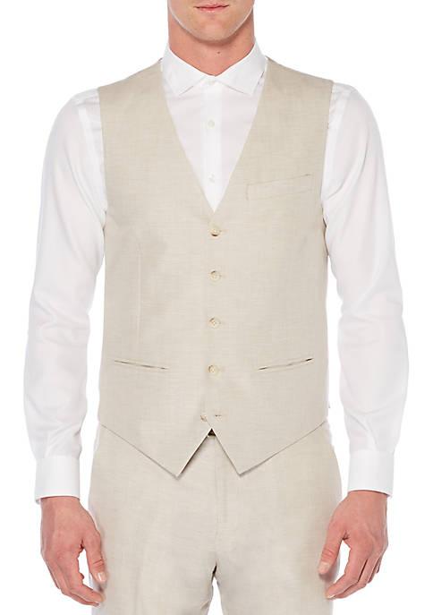Perry Ellis® Herringbone Vest