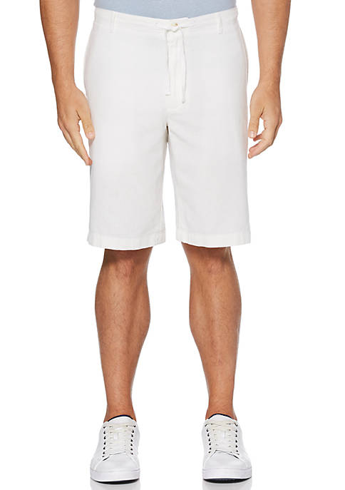 Perry Ellis® Drawstring Linen Shorts