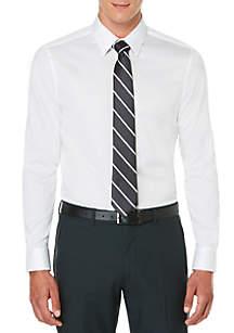 Long Sleeve Solid Texture Dot Shirt