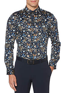 Floral Printed Button Down Shirt