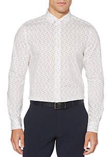 Perry Ellis® Long Sleeve Printed Shirt