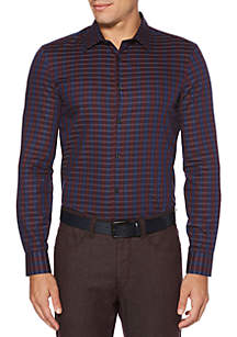 Long Sleeve Striped Dress Shirt