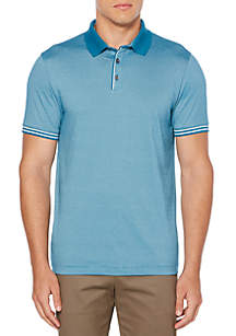 End-on-End Striped Polo