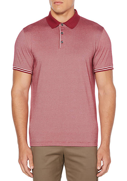 Perry Ellis® End-on-End Striped Polo