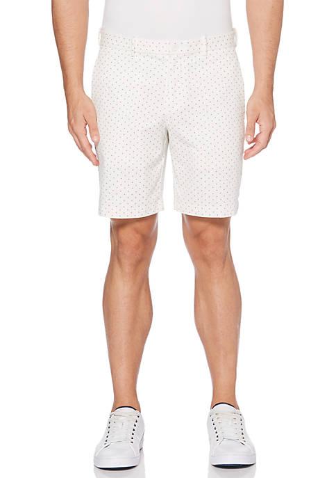 Perry Ellis® Mini Motif Print Shorts